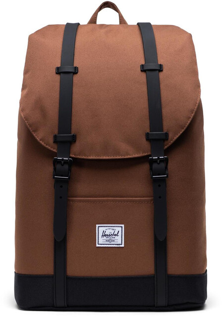 Herschel Retreat Mid Volume Rugzak 14l, saddle brownblack